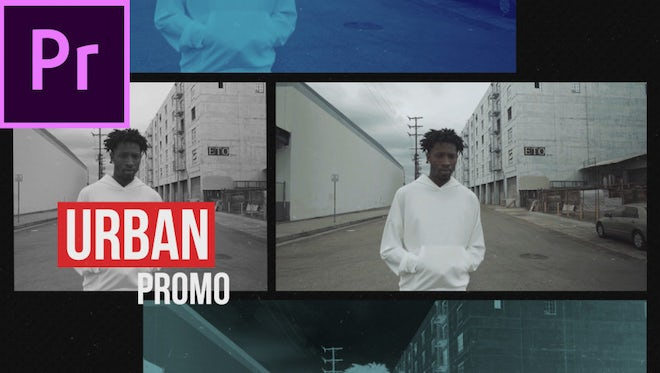 Urban Media Opener: Premiere Pro Templates