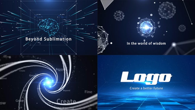 Creative Tech Plexus Opener: After Effects Templates