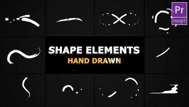 Flash FX Shape Lines: Motion Graphics Templates