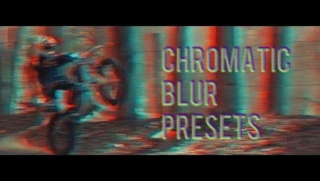 Chromatic Blur Presets: Premiere Pro Presets