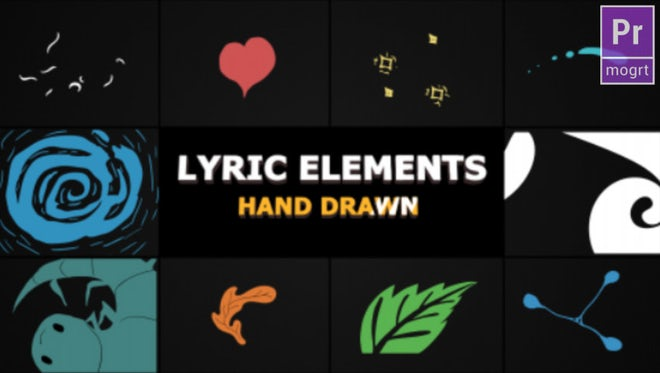 Flash FX Lyric Elements: Motion Graphics Templates