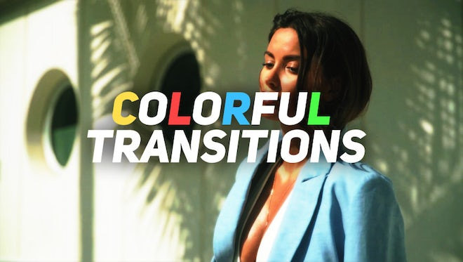Colorful Transitions: Premiere Pro Presets