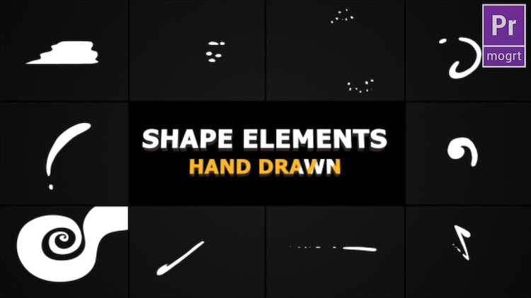 Flash FX Shape Elements: Motion Graphics Templates