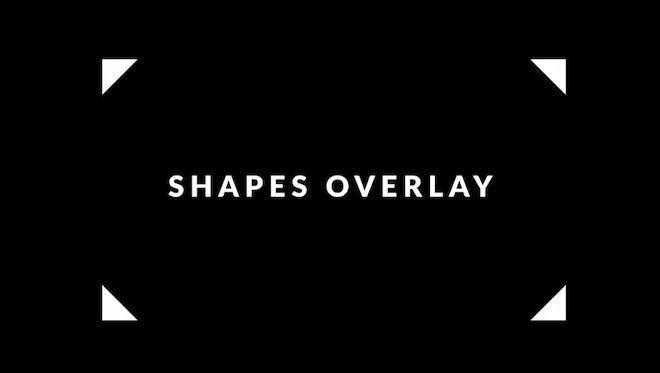 Shapes Overlay Pack: Stock Motion Graphics