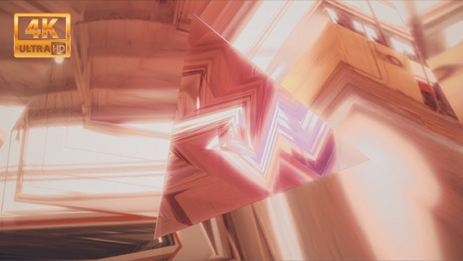 Other Dimension Triangular Tunnel: Stock Motion Graphics