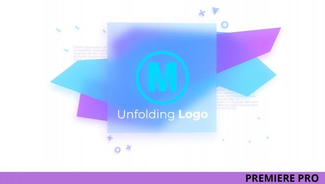 Unfolding Logo: Premiere Pro Templates