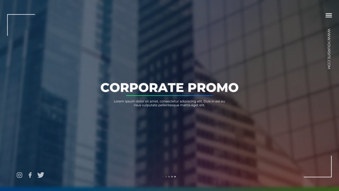Corporate Promo: Premiere Pro Templates