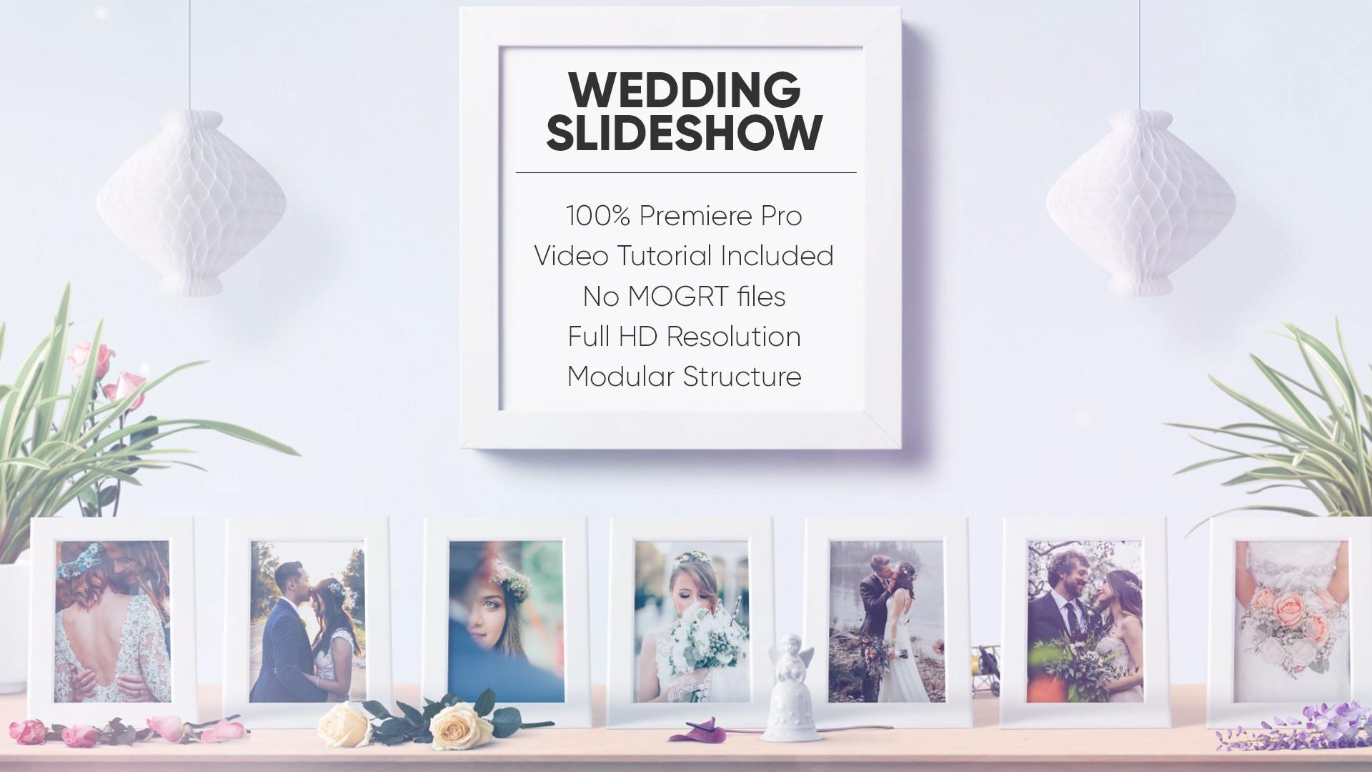 Wedding Slideshow - Premiere Pro Templates 134102