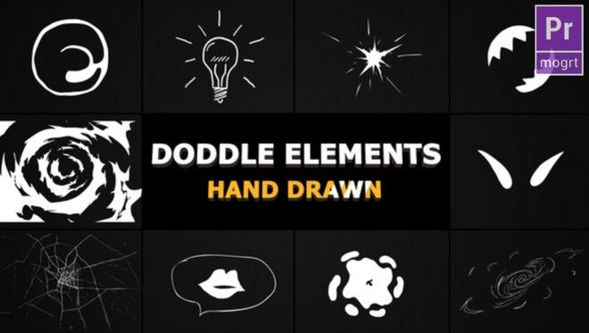 Flash FX Doodle Elements: Motion Graphics Templates