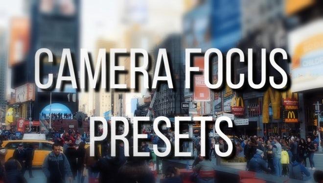 Camera Focus Presets: Premiere Pro Presets
