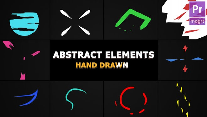Flash FX Abstract Elements: Motion Graphics Templates