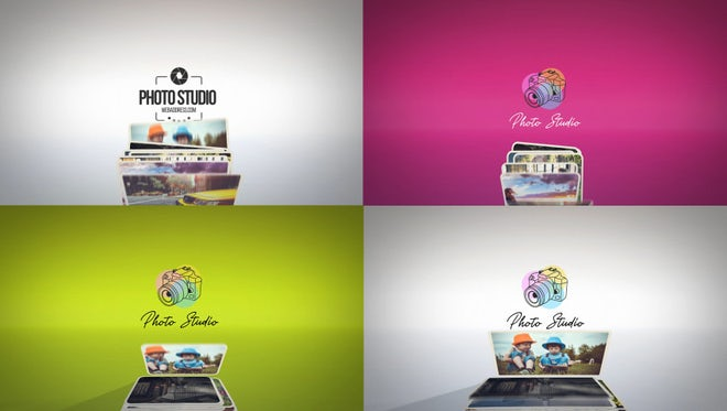 Photography Logo Reveals: After Effects Templates
