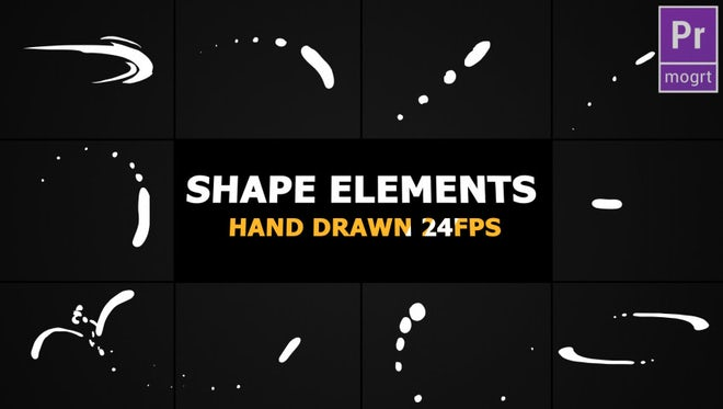Shape Elements: Motion Graphics Templates