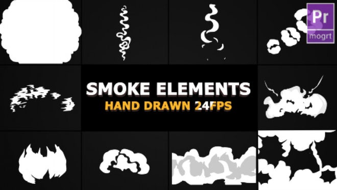 Smoke Elements: Motion Graphics Templates