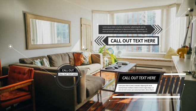 Call Outs Titles Pack: After Effects Templates