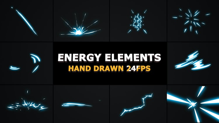 2DFX Energy Elements: After Effects Templates