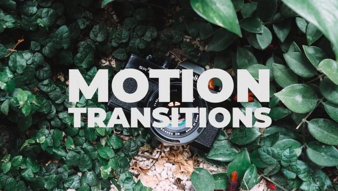 Motion Transitions: Premiere Pro Presets