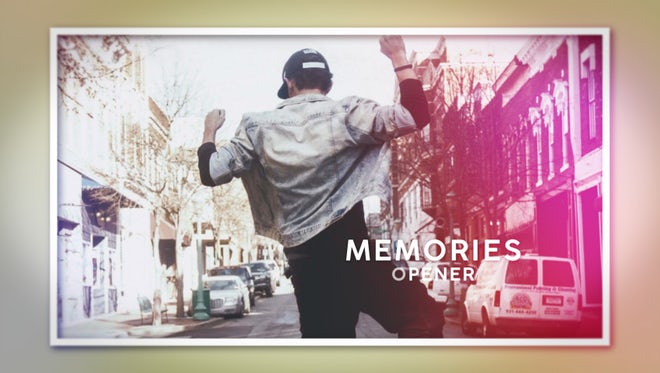 Memories Opener: After Effects Templates