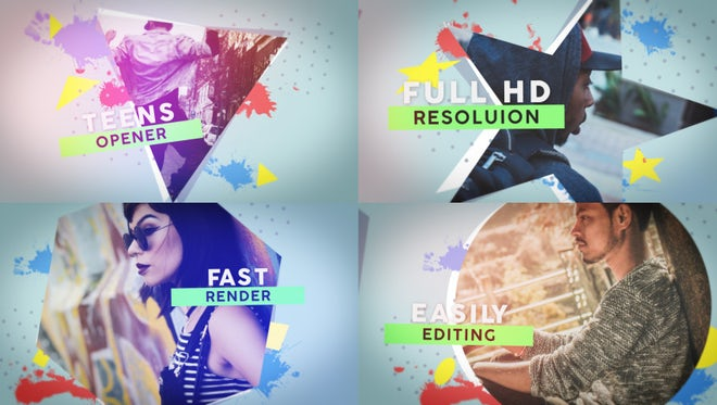 Teens Opener: After Effects Templates