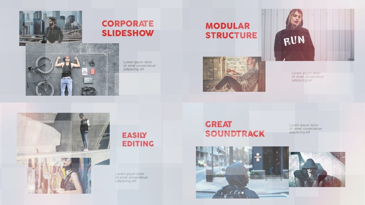 The Corporate: After Effects Templates