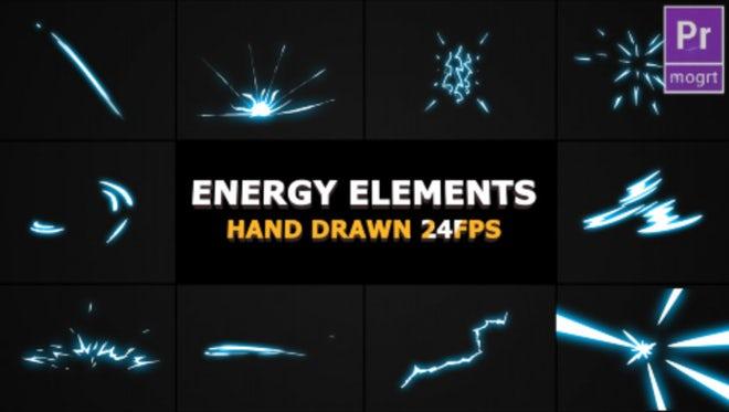 Energy Elements: Motion Graphics Templates