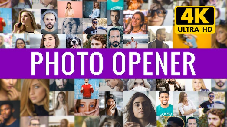 Elegant Photo Opener: After Effects Templates