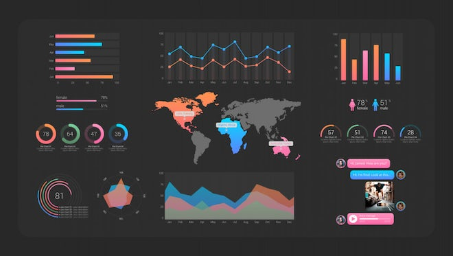 Modern Infographics Creator: After Effects Templates