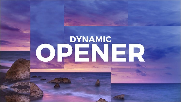 Dynamic Opener: DaVinci Resolve Templates