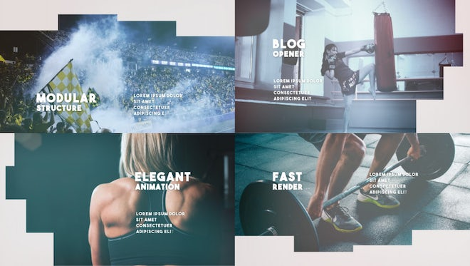 Blog Opener: After Effects Templates