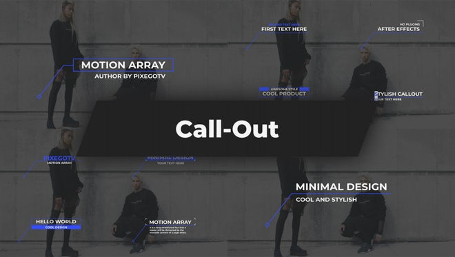 Call-Outs: After Effects Templates