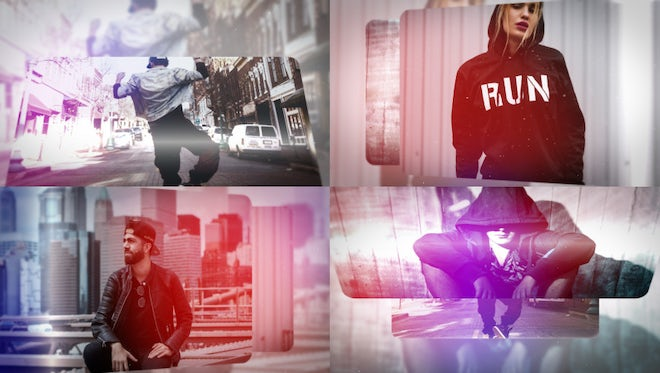 Clean Photo Logo Opener: After Effects Templates