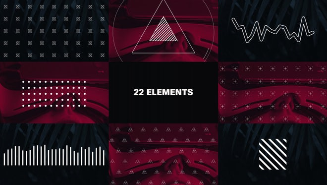 Graphic Elements: After Effects Templates
