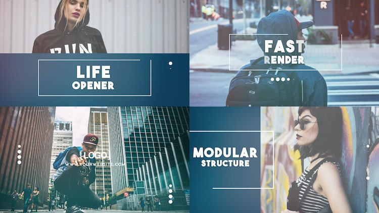 Life Opener: After Effects Templates