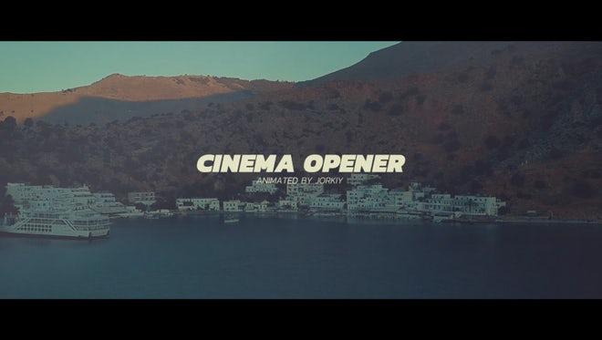 Calm Cinema Promo: Premiere Pro Templates