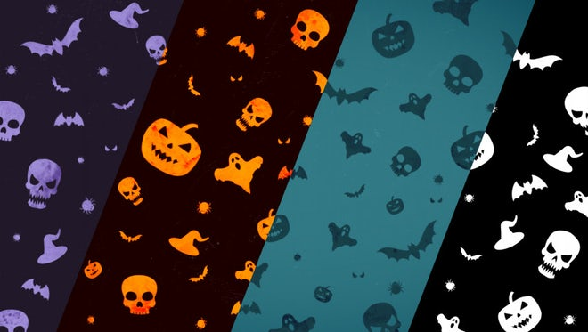 Halloween Background Loop: Stock Motion Graphics