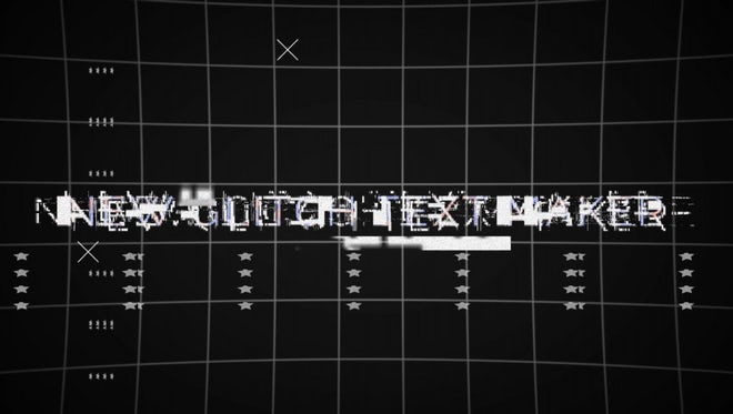 Glitch Maker (Toolkit): After Effects Templates
