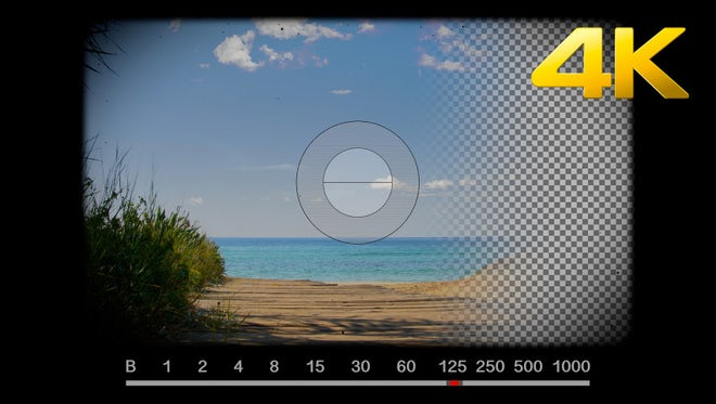Vintage Camera Viewfinder, Shutter Clicks: Stock Motion Graphics