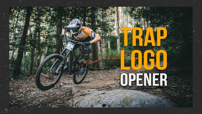 Trap Logo Opener: Premiere Pro Templates