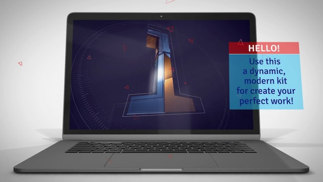Laptop Presentation Kit: After Effects Templates