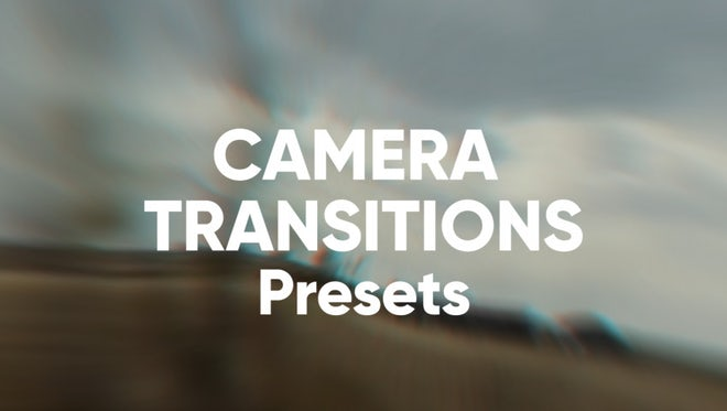Camera Transitions Presets: Premiere Pro Presets