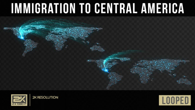 Immigration To North America Pack - Stock Motion Graphics