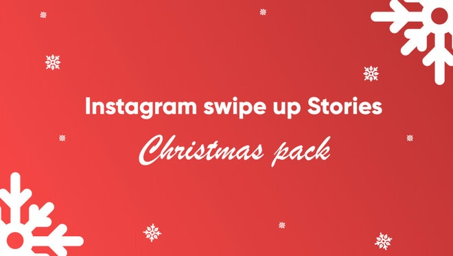 Christmas Instagram Stories: After Effects Templates