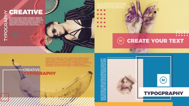Social Media Typography: After Effects Templates