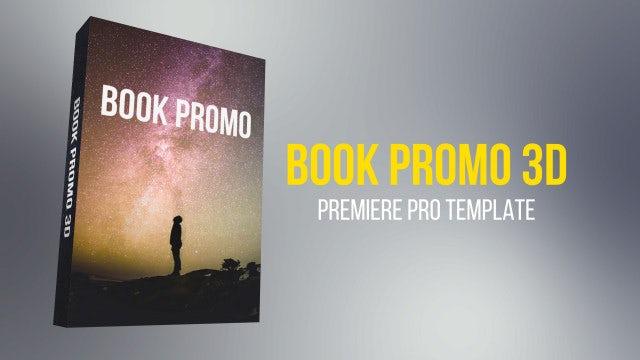 Book Promo 3d: Premiere Pro Templates