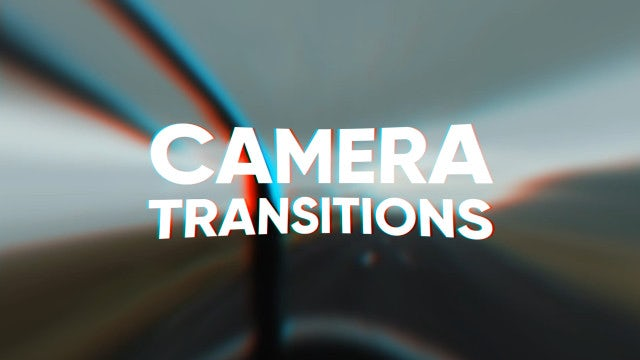 Camera Transitions: After Effects Templates