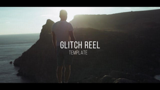 Glitch Reel: After Effects Templates