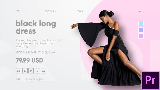 Fashion Clothes Shop: Premiere Pro Templates