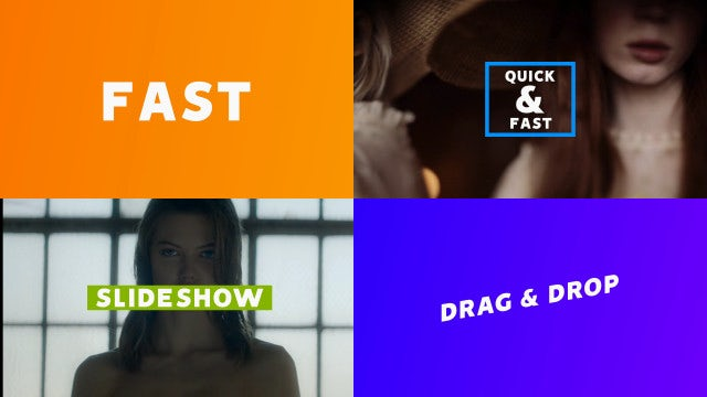 Stomp Slideshow: After Effects Templates