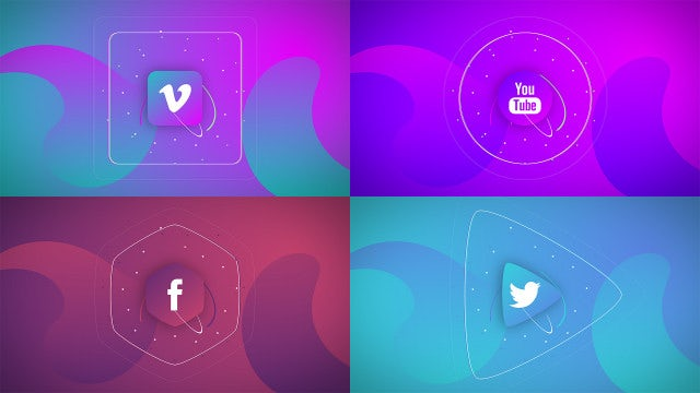 Quick Simple Social Promo: Motion Graphics Templates