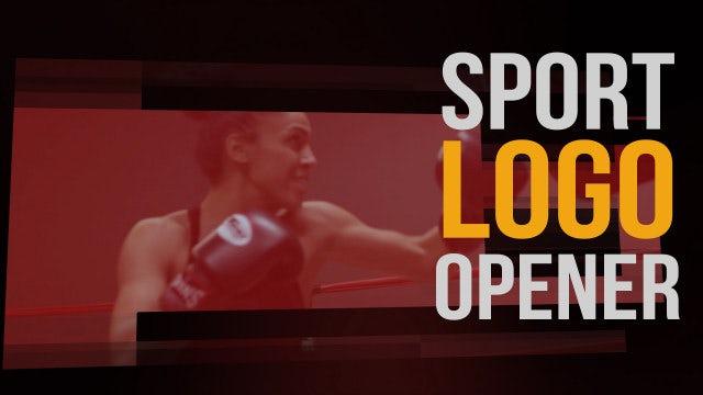 Sport Logo Opener: Premiere Pro Templates